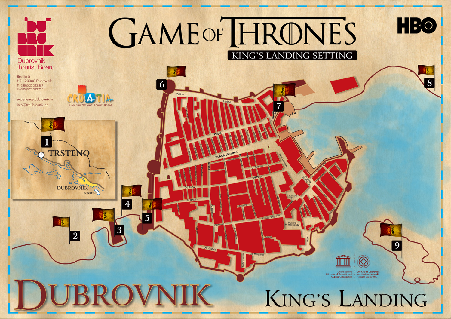 Dubrovnik Finishes Preparation For Game Of Thrones Filming