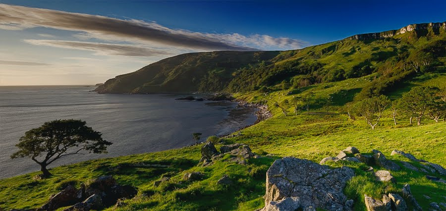 Cottage at the bay - Picture of Murlough Bay and Fair Head ...