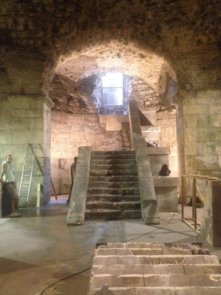 Game Of Thrones Prepares Three Sets At Diocletian S Palace