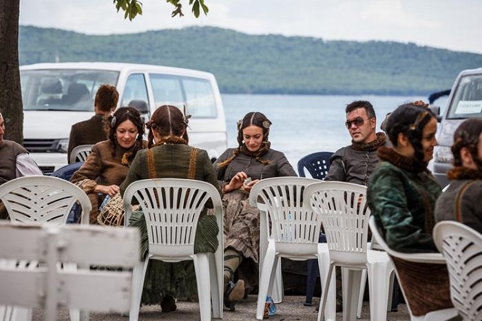 K. Gomilica, 02.09.2014 - Snimanje popularne serije Igre Prijestolja