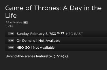 HBO műsorfüzet 2015 február 8.