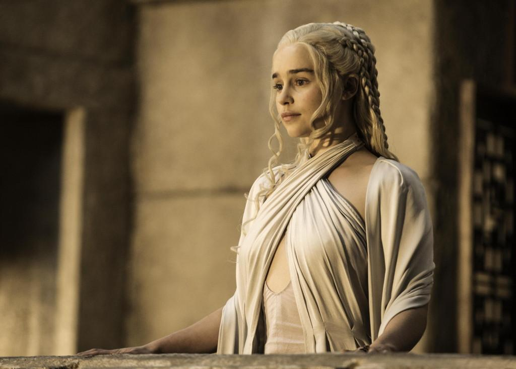 Emilia Clarke as Daenerys Targaryen_ photo Helen Sloan_HBO