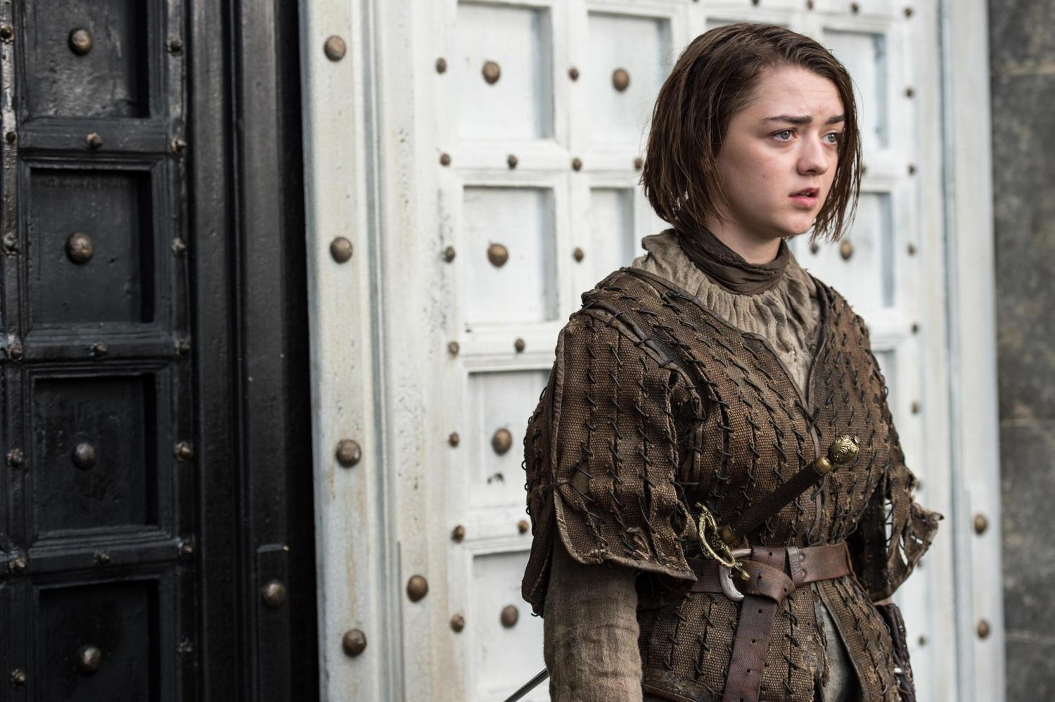 Maisie Williams as Arya Stark _ photo Macall B. Polay_HBO