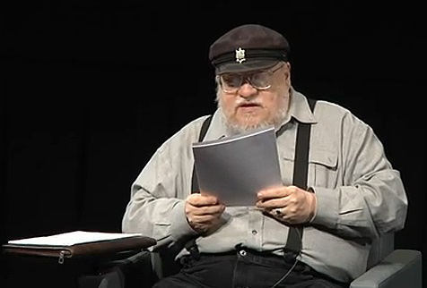GRRM reading a Victarion chapter at TIFF