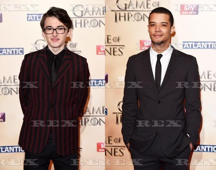 Isaac Hempstead Wright and Jacob Anderson