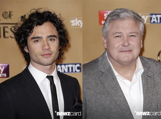 Toby Sebastian and Conleth Hill