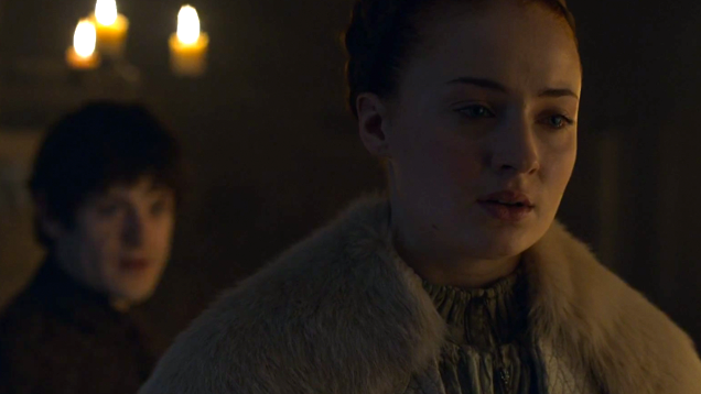 Sansa and Ramsay