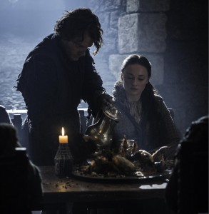 Sansa and Theon