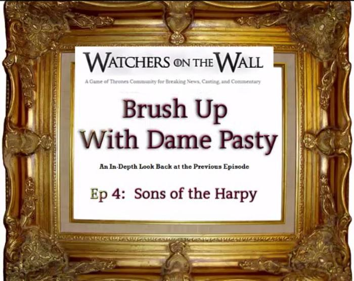 """Brush-up for Episode 5 with Dame Pasty\'s Recap and Review of """"Sons ..."""