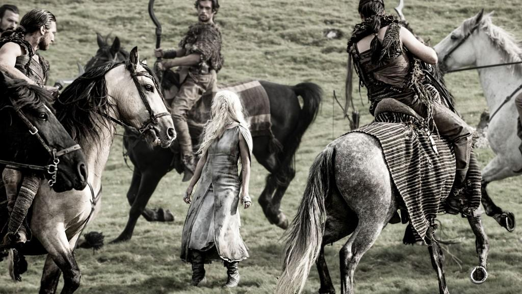 Dany and the Dothraki