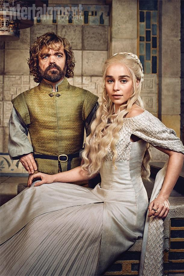 Q & A with Peter Dinklage and Emilia Clarke: TV's New ...