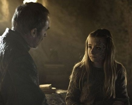 Stannis and Shireen S2