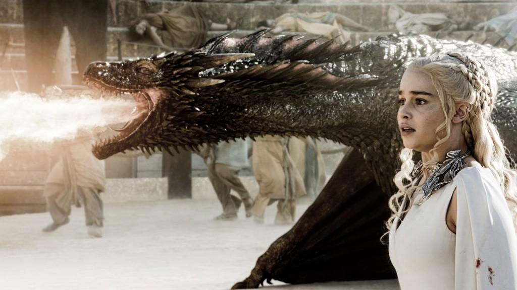 dany and drogon 3