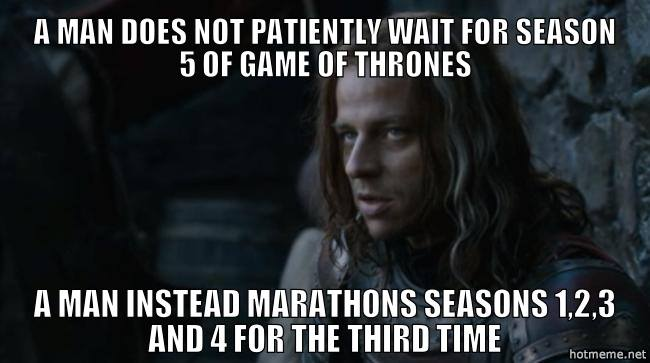 Jaqen waiting