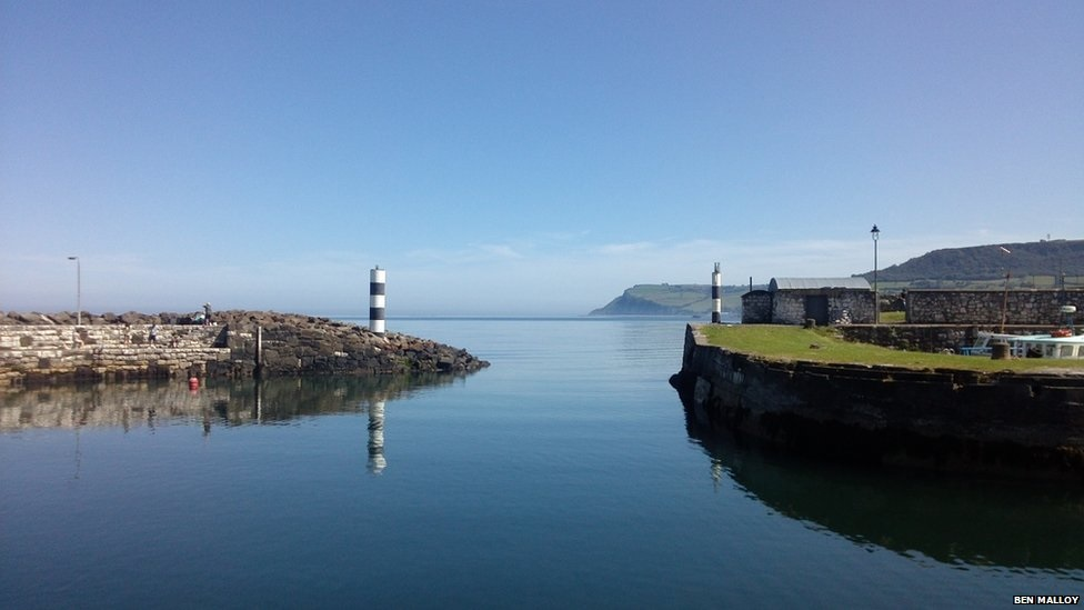 Carnlough Harbour, Northern Ireland. Photo: Ben Malloy