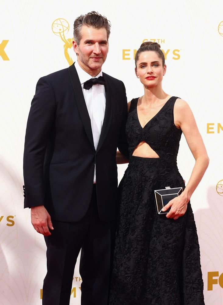 David Benioff and wife Amanda Peet