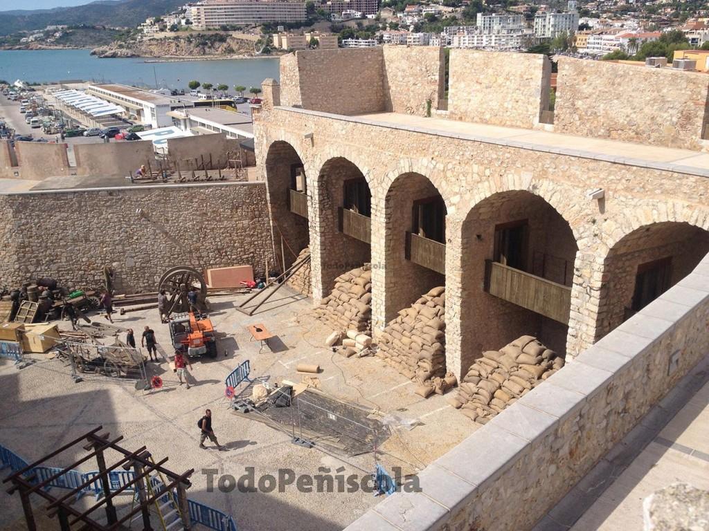 Plaza Santa Maria, in progress