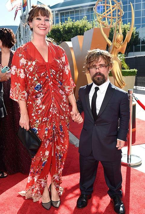 Peter Dinklage with wife Erica Schmidt
