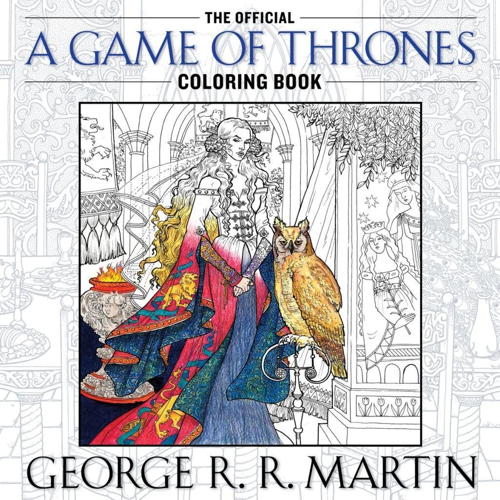 GameofThronescoloringcover