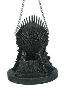 Iron Throne ornament
