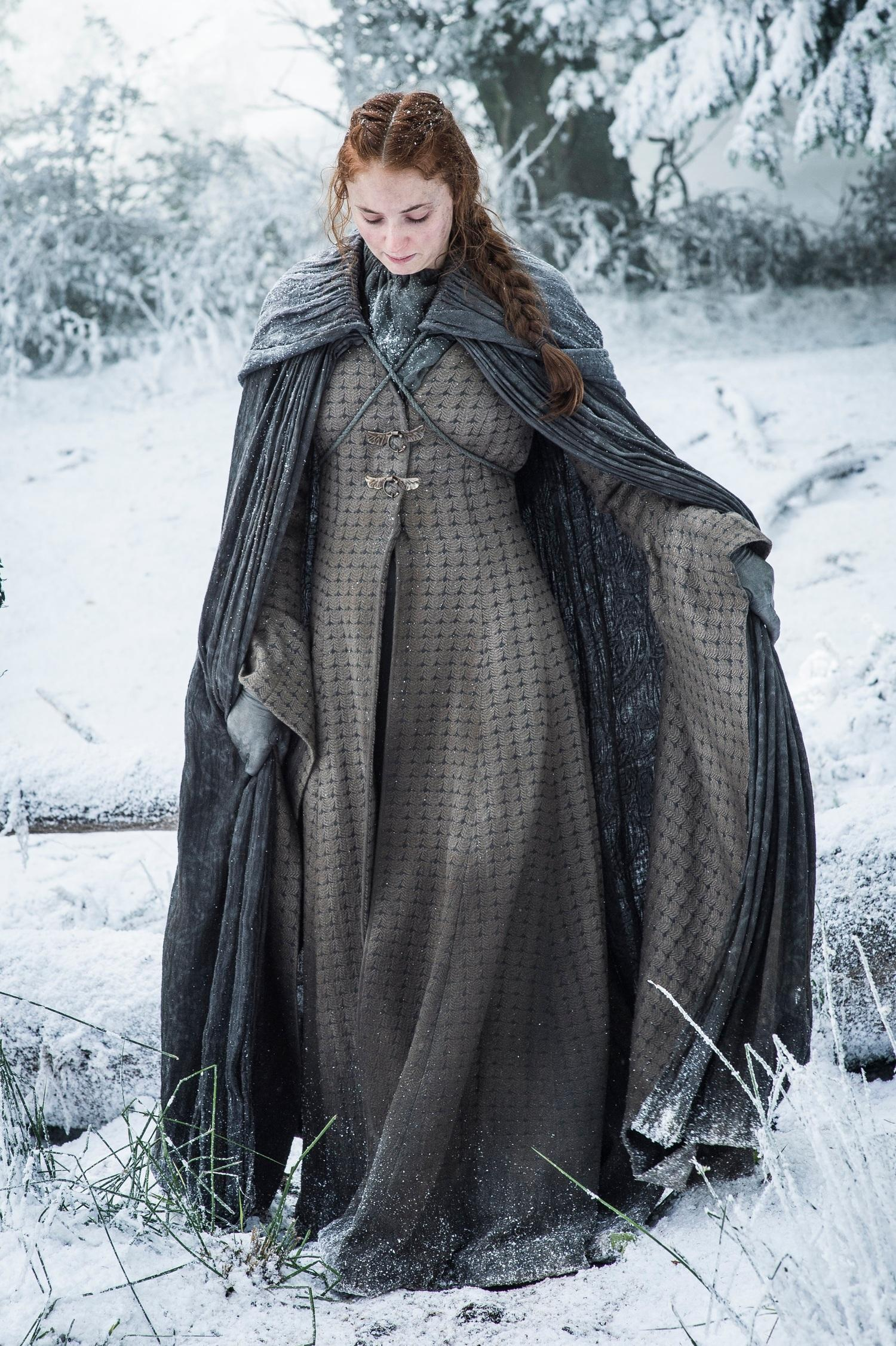 Sansa snow