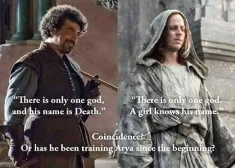 A popular theory among GOT message boards. Source: neoGAF