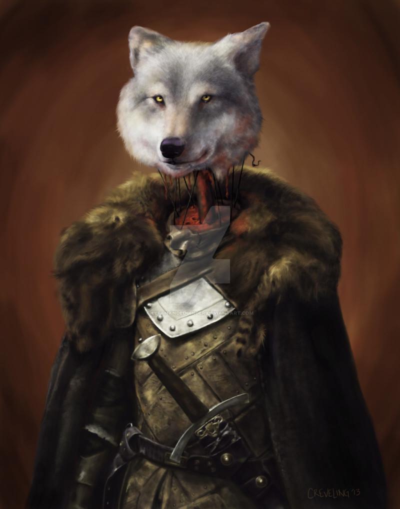 Wolf red wedding
