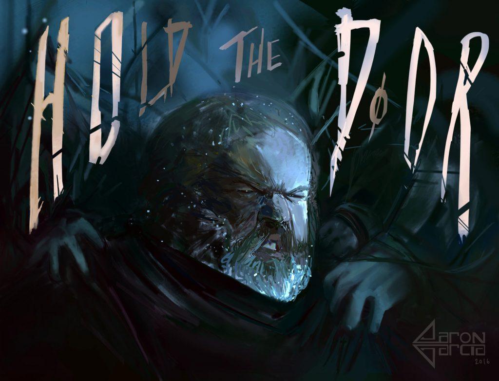 Hodor-Hold-the-Door-Game-of-Thrones-Art-by-Aaron-Garcia