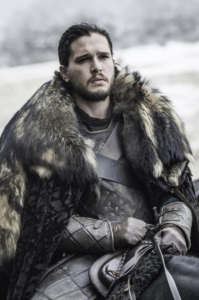 Kit Harington as Jon Snow Credit: Helen Sloan/HBO