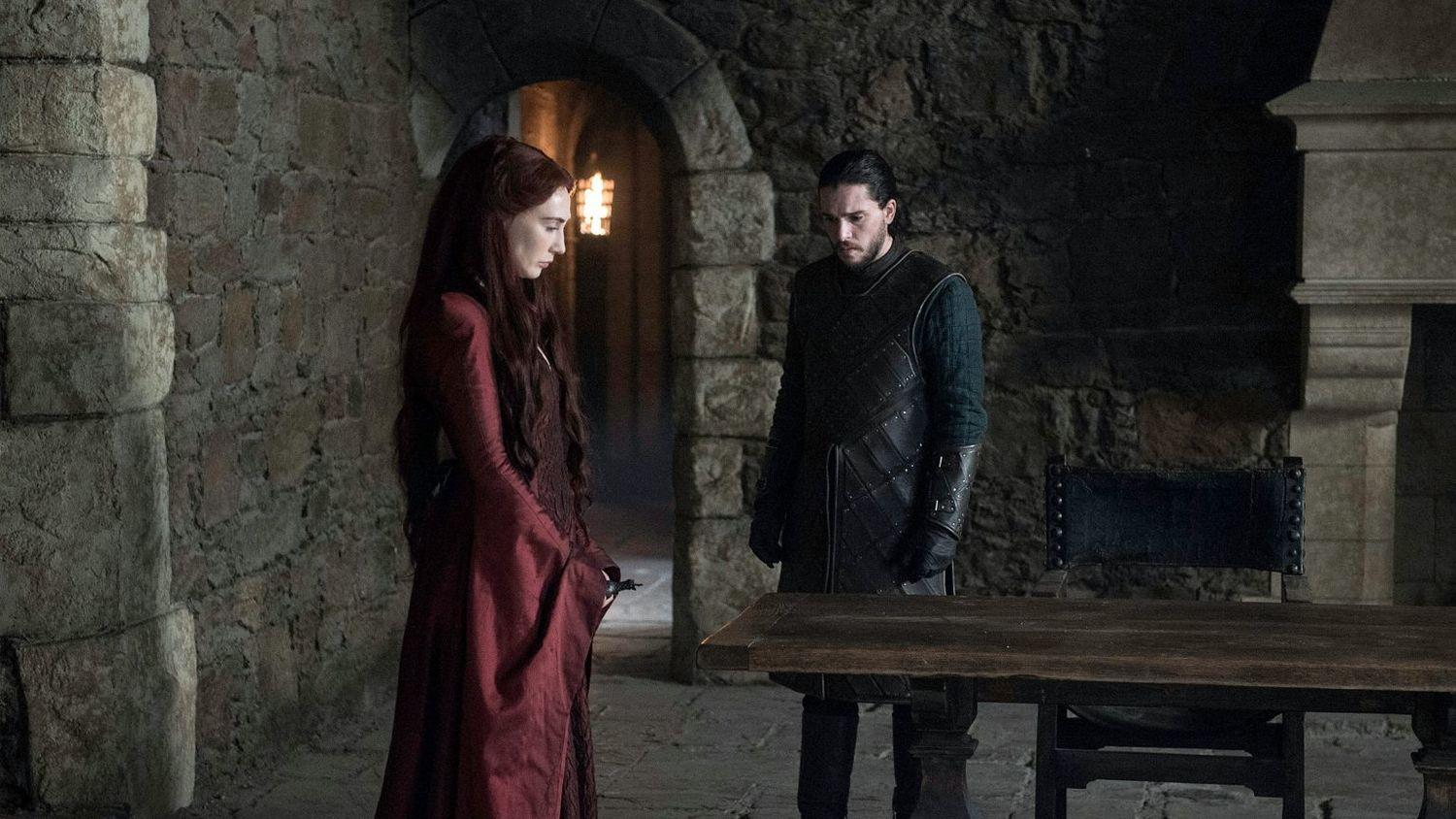 Jon and Melisandre