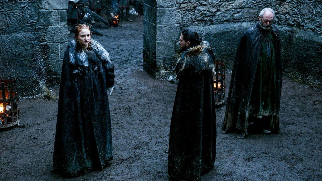 Sophie Turner And Aidan Gillen On The Game Of Thrones Season 6