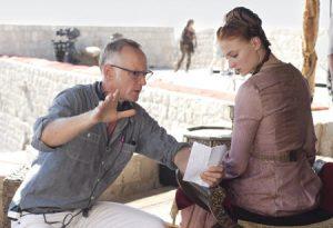 Alan Taylor directs Sophie Turner