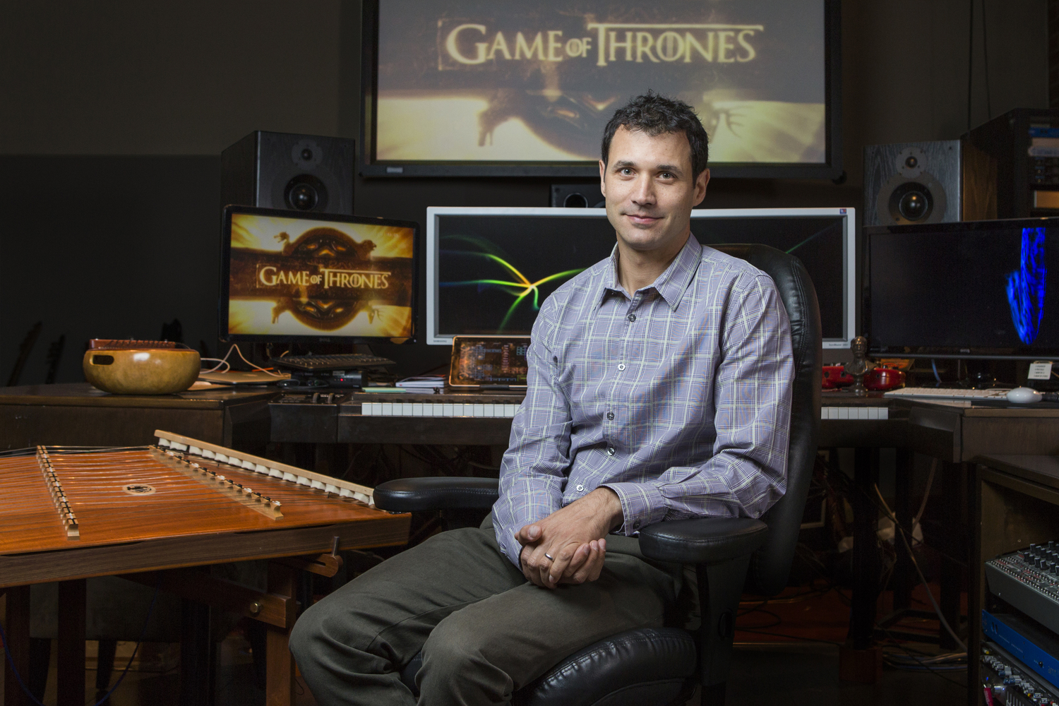 "Ramin Djawadi, longtime composer for ""Game of Thrones,"" will again helm the GoT Live Concert Experience tour in 2018."