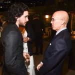 Kit  with Jeffrey Katzenberg
