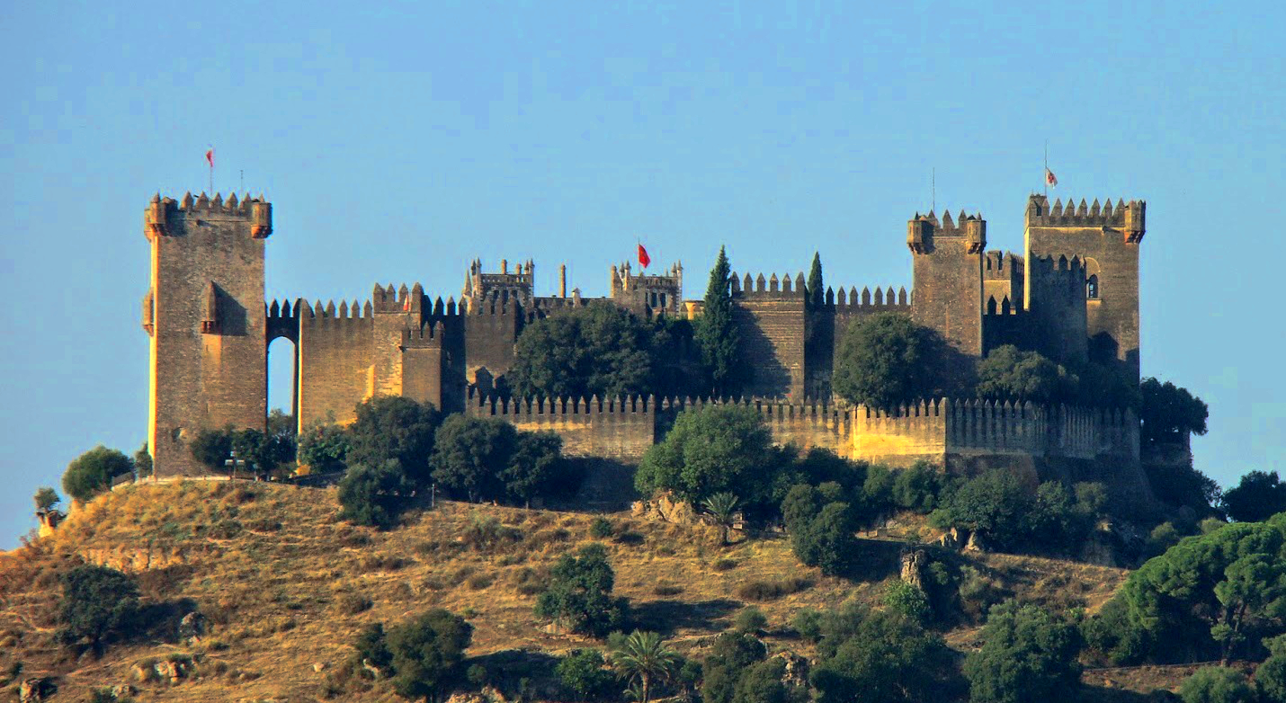 Almodóvar del Río Castle, in Córdoba, Andalusia, Spain