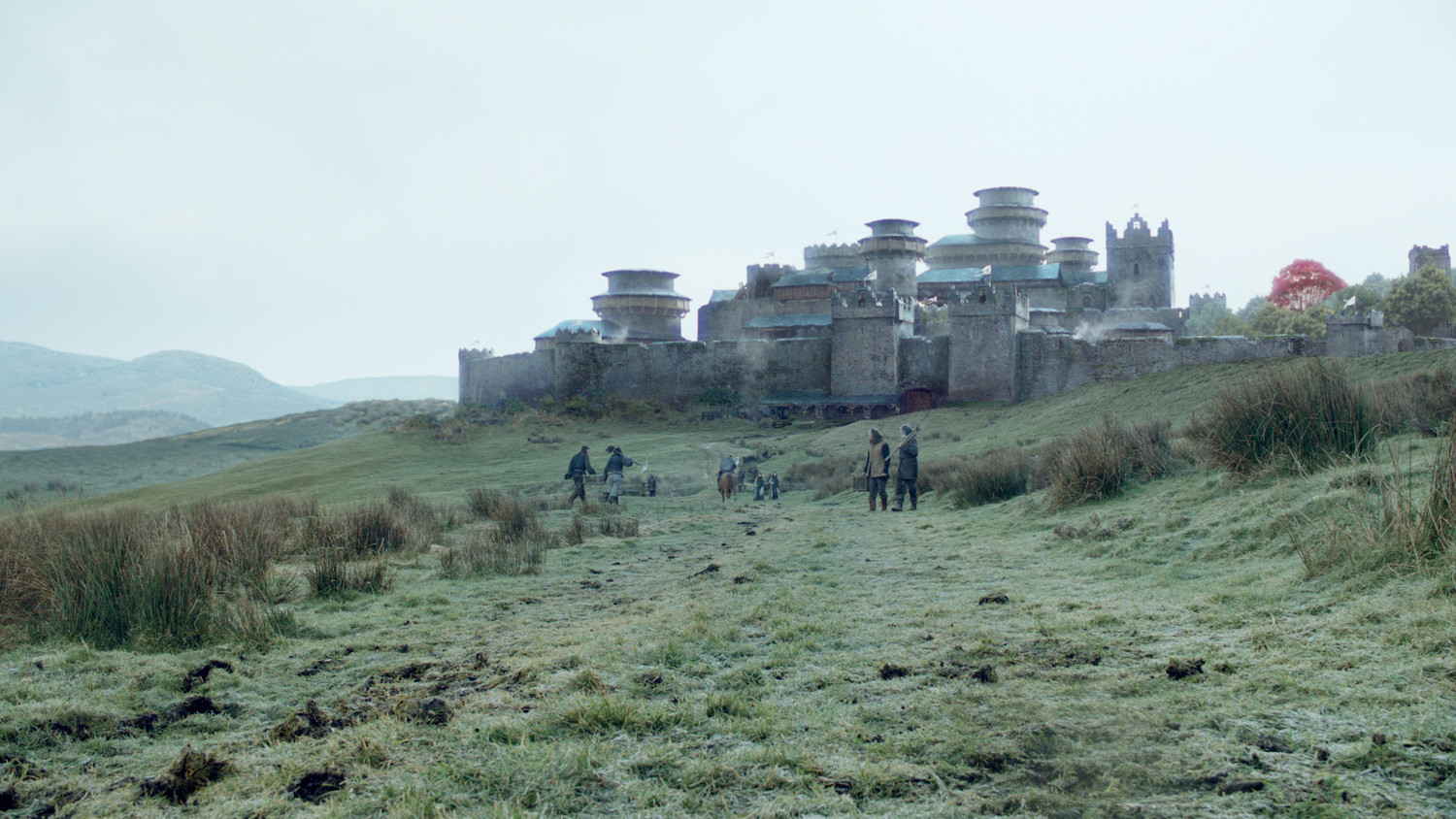 "A fan in Northern Ireland has spotted further activity at Moneyglass, which stands in for Winterfell on ""Game of Thrones."""