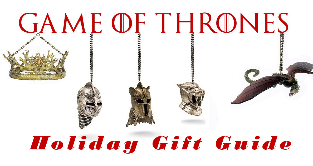 the 2016 game of thrones holiday gift guide watchers on