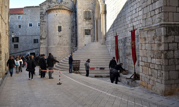Dominican Monastery Game of Throned Dubrovnik 12-15-16