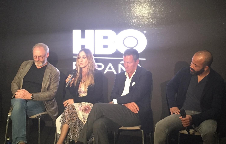 HBO espana Liam Cunningham Sarah Jessica Parker Richard Plepler Jeffrey Wright