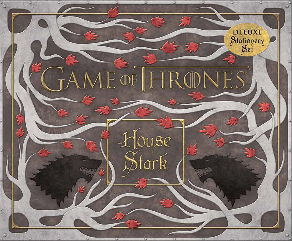 House Stark Stationery Set Cover