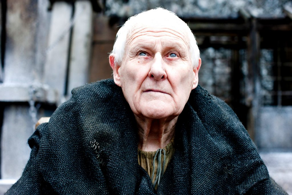 Peter Vaughan as Maester Aemon in Game of Thrones