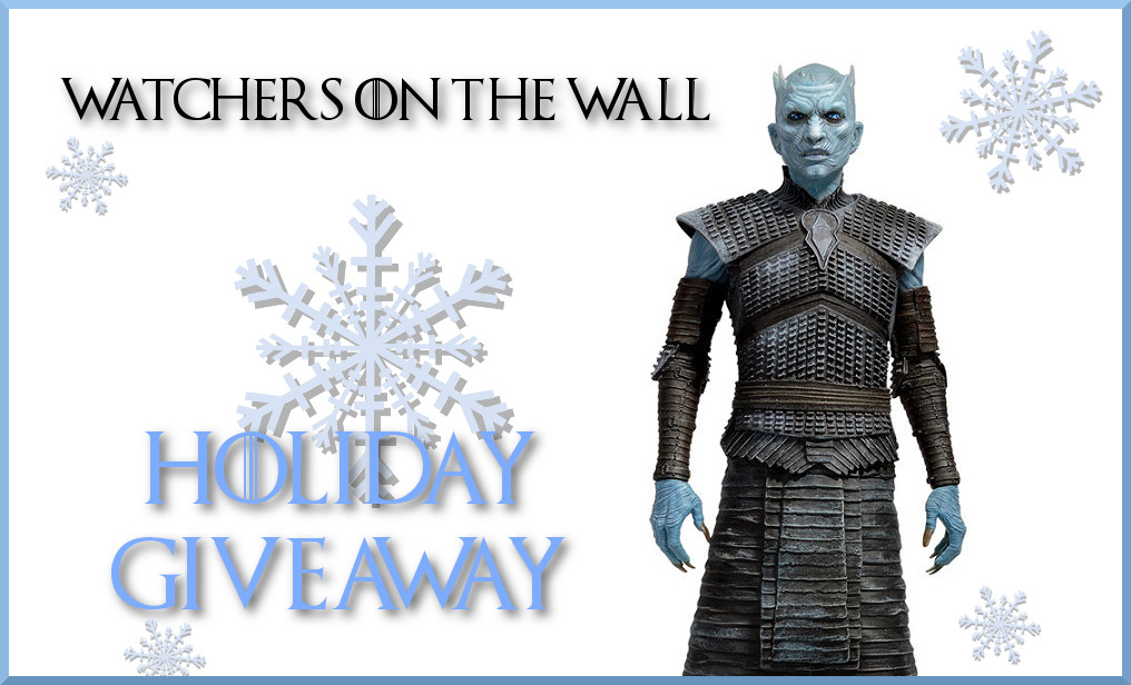 night king watchers on the wall giveaway