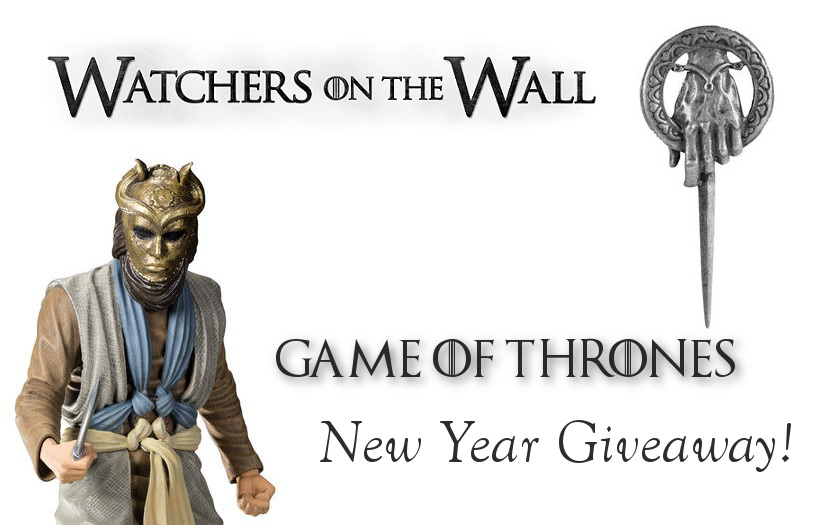 Game of Thrones New Years Day Giveaway banner