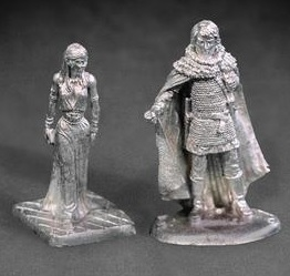 Jon Snow and Daenerys Targaryen miniatures