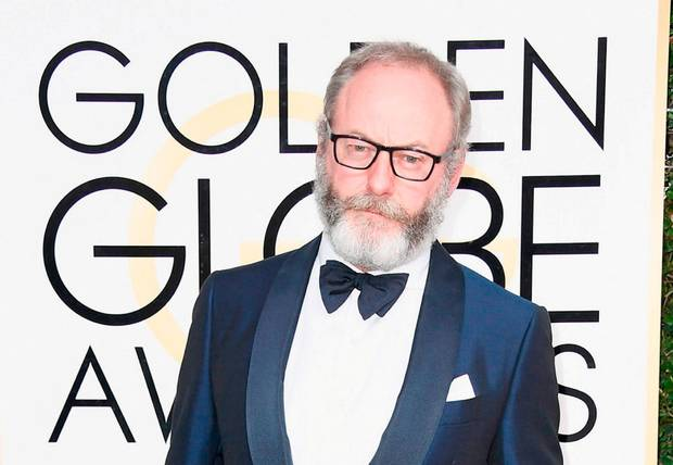 Liam Cunningham at the 2017 Golden Globes