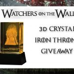 Game of Thrones crystal Iron Throne1