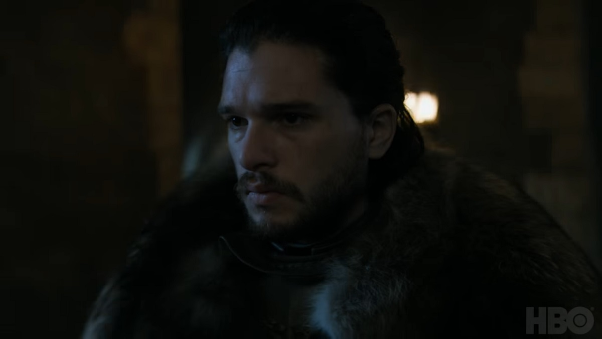 Jon Snow Long Walk teaser Game of Thrones
