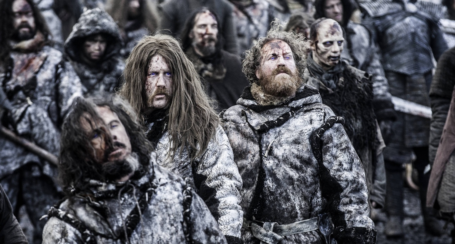 "Mastodon as wildling wights in ""Hardhome"""