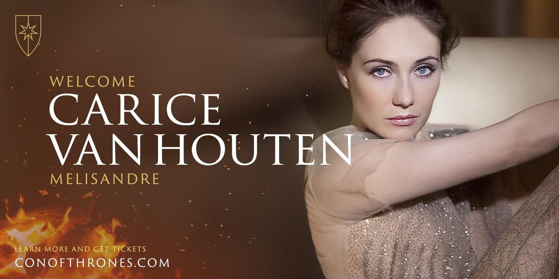 Carice van Houten Melisandre Con of Thrones
