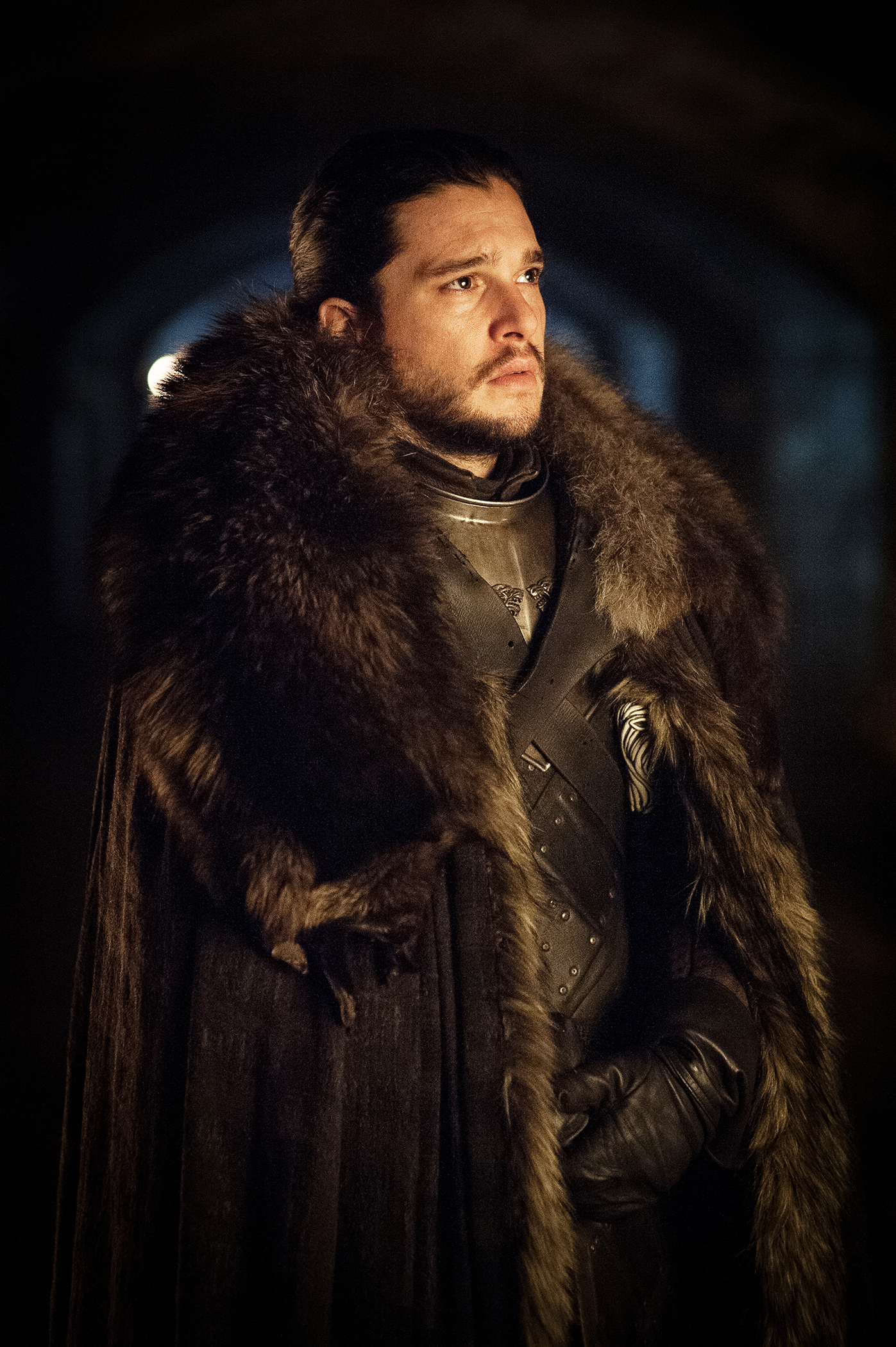 Jon Snow (Kit Harrington) visiting WInterfell's crypts / Photo: Helen Sloan/HBO